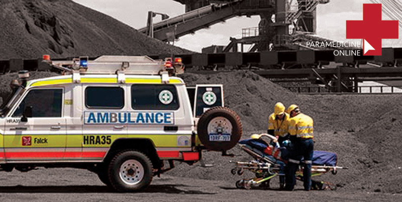 Image result for paramedic  mining